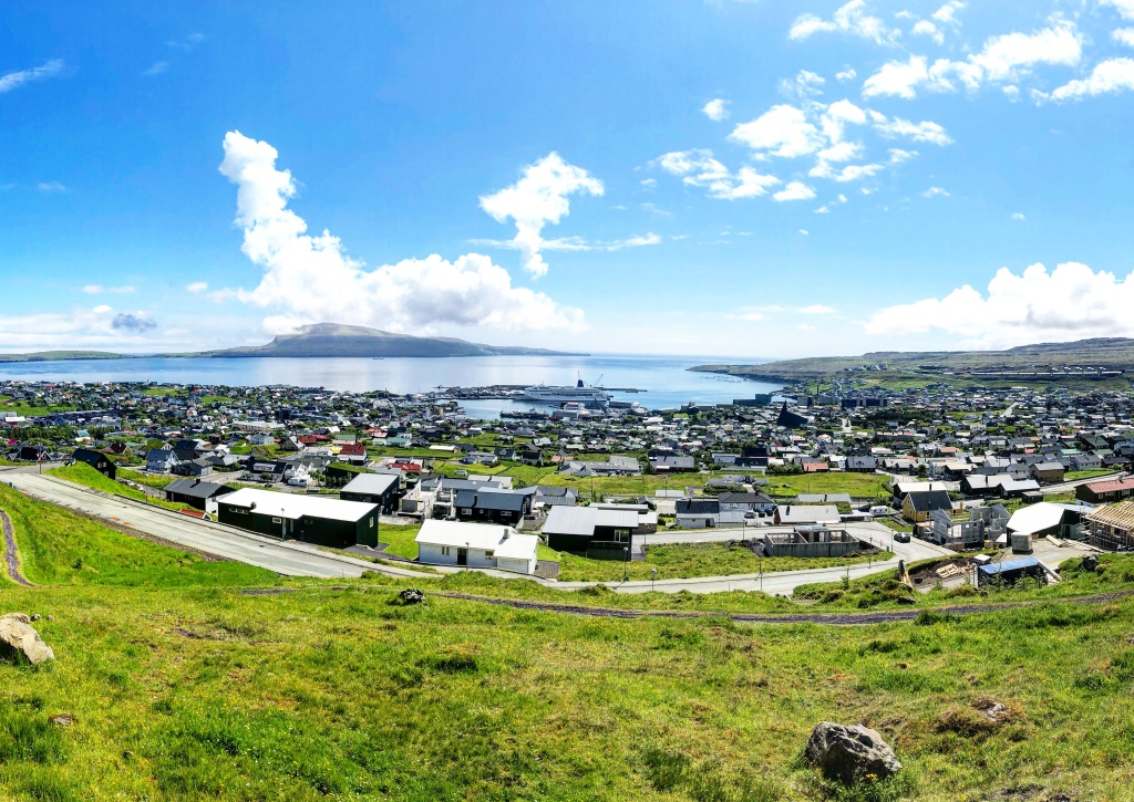 A panoramic view of Torshavn 📷 by Nocruisecontrol