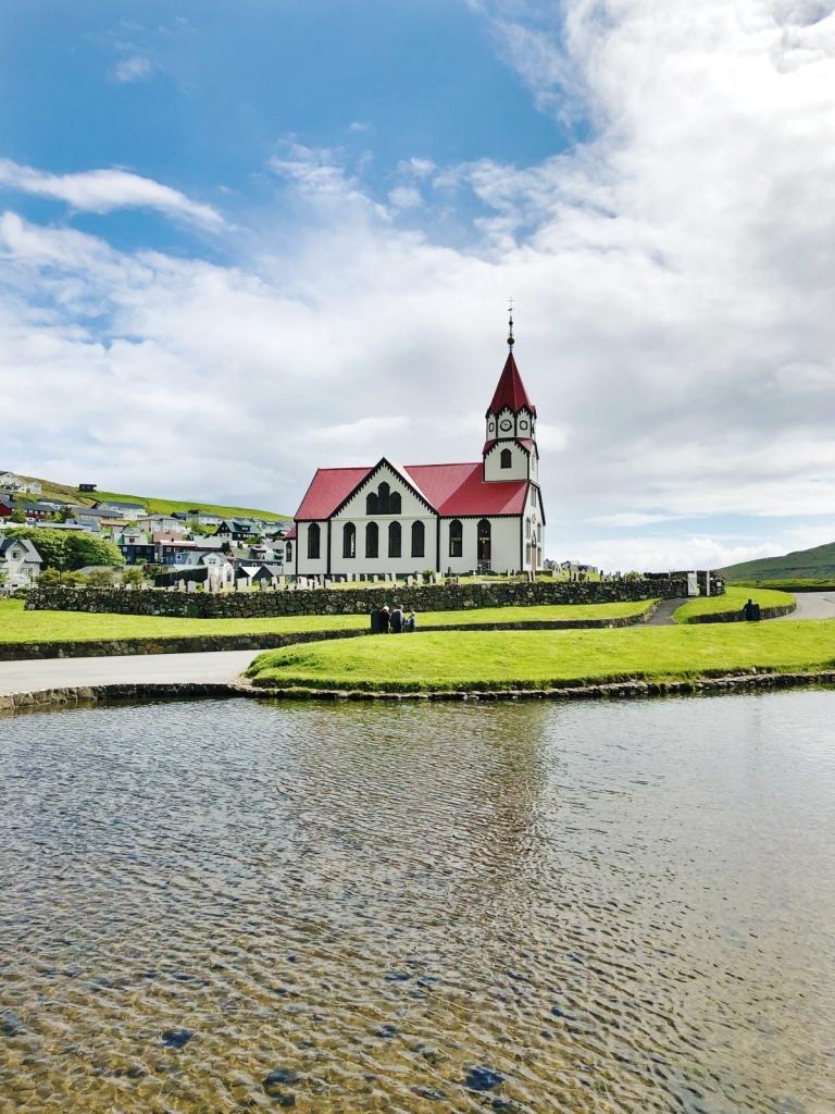 Sandavágur Church 📷 by Nocruisecontrol