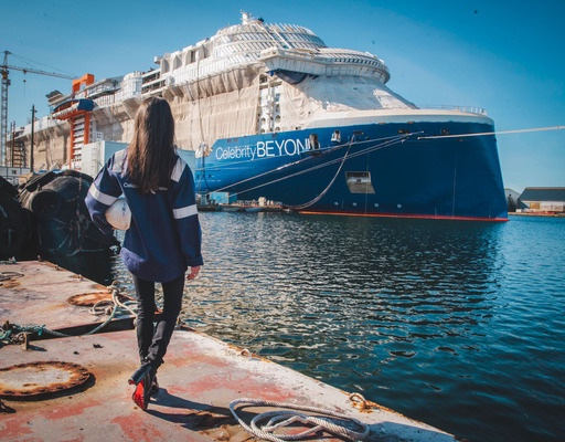 Captain Kate McCue to take the helm of Celebrity Beyond. Celebrity Cruises' newest and most Luxurious ship!